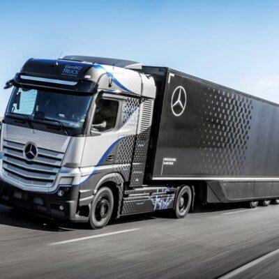 Mercedes comienza a probar el GenH2, su camión de hidrógeno de 1.000 km de autonomía