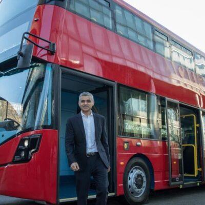 Londres estrena su primer autobús de dos pisos alimentado por hidrógeno
