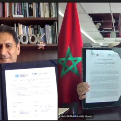 IRENA y Marruecos se unen para impulsar hidrógeno verde