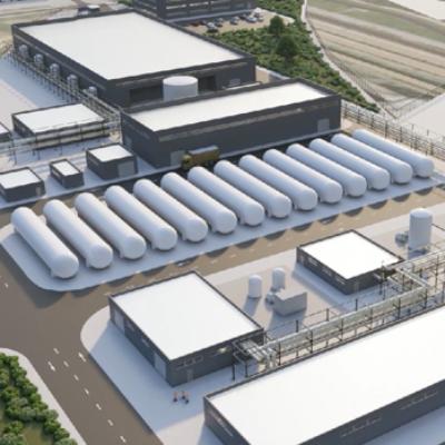 Tres energéticas proyectan una planta de hidrógeno verde en la Bahía de Algeciras