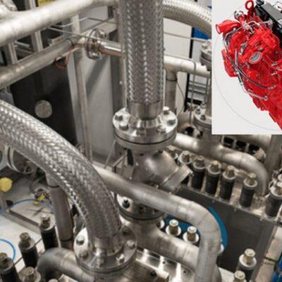 Cummins prueba  el motor de combustión interna alimentado con hidrógeno