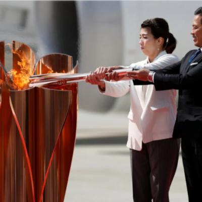 La llama olímpica utilizará hidrógeno renovable