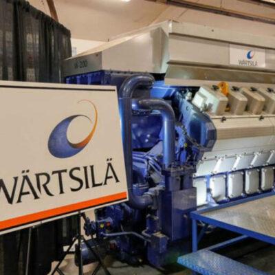 Wärtsilä desarrolla motor de combustión de hidrógeno y amoniaco verde