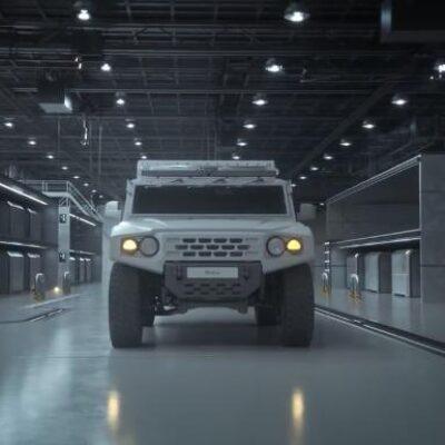 RHGV (Rescue Hydrogen Generator Vehicle), el nuevo concepto de vehículo de rescate de Hyundai