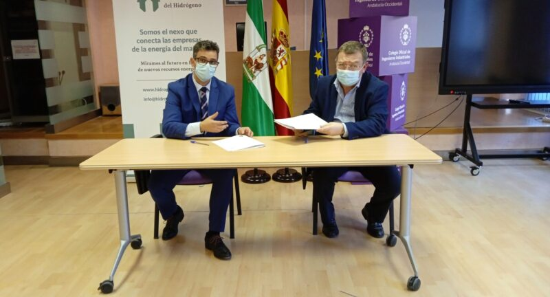 COIIAOC Y Asociación Andaluza del Hidrógeno firman acuerdo de colaboración